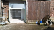 The front of the farm shop